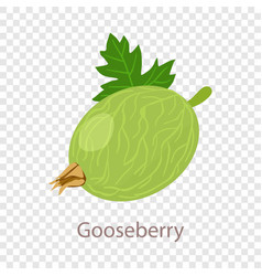 Gooseberry icon isometric 3d style vector