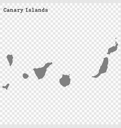 high quality map is a state spain vector image