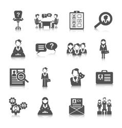 Human Resources Icon vector