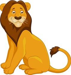 Lion Cartoon vector image vector image