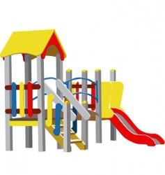 vector children playground vector image