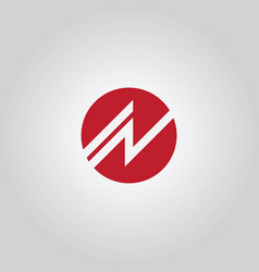 Round shape business logo vector