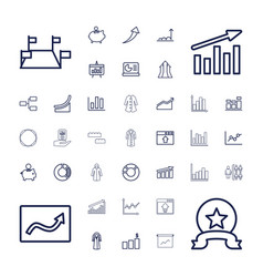 37 infographic icons vector