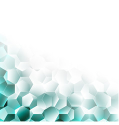 abstract geometric polygonal mosaic background vector image