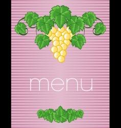 menu23 vector image