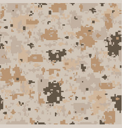 Seamless camouflage pattern - fashion vector