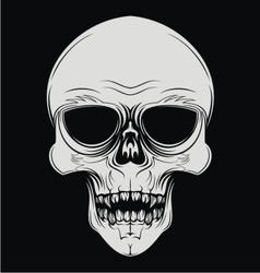 Skulls Face vector image