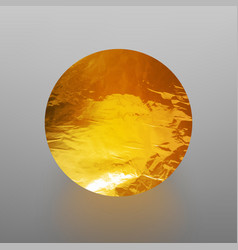 Stock shiny sparkly gold leaf vector
