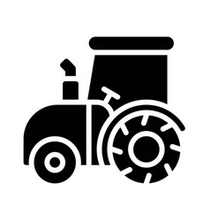 Tractor icon thanksgiving related vector