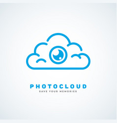 photo cloud vector image vector image