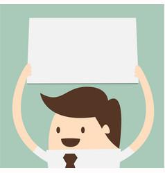 big blank paper vector image