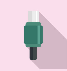 Digital adapter icon flat style vector
