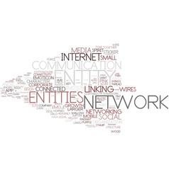 Entity word cloud concept vector