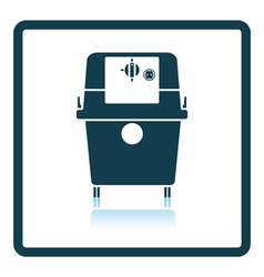 Icon of vacuum cleaner vector
