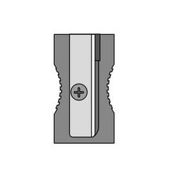 isolated sharpener design vector image