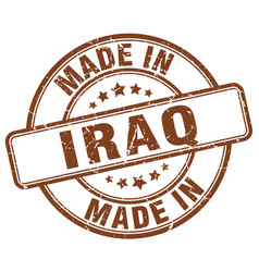 made in iraq vector image
