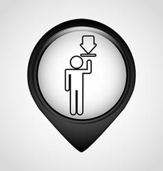 user technology vector image