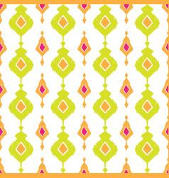 ethnic ikat seamless pattern vector image