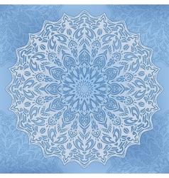 round Ornate Background vector image