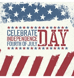 Independence Day Design template Celebration vector image vector image