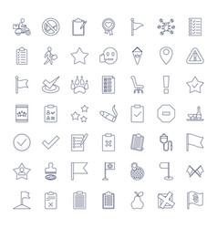 49 mark icons vector