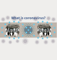 Covid19-19 spreads among people and infects vector