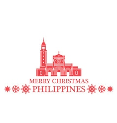 Greeting Card Philippines vector image