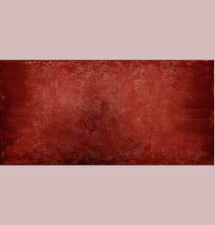 Grunge red stone texture background vector