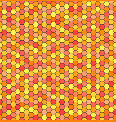 hexagon pattern seamless pattern vector image