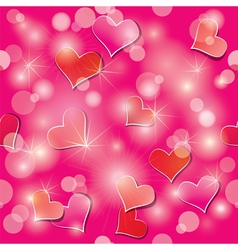 light hearts seamless 380 vector image