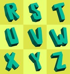 Rocky font vector
