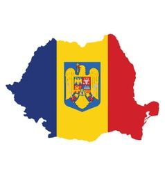 Romania Flag vector image