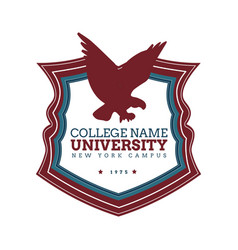 University college logo vector