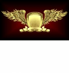 gold board vector image vector image