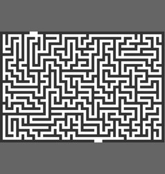 labyrinth maze vector image