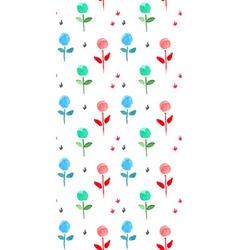 Ballflowers patt 02 vector image