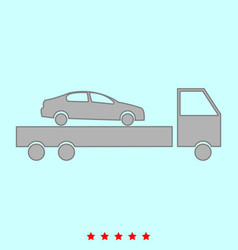 car service it is icon vector image