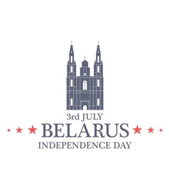 Independence Day Belarus vector