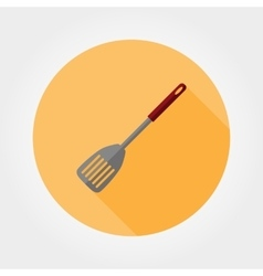 Kitchen shovel icon vector