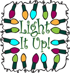 Light It Up vector