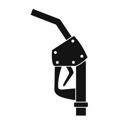 Refill fuel pistol icon simple style vector