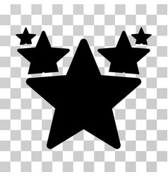 Stars hit parade icon vector