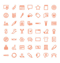 template icons vector image