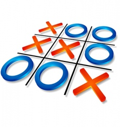 Tic-tac-toe vector