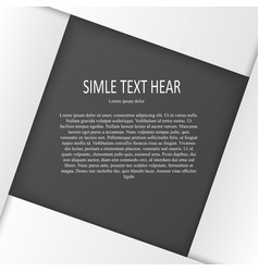 white text print vector image