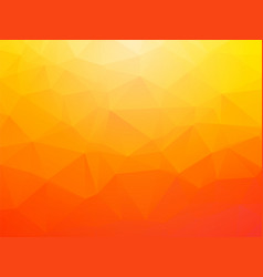 brightly orange background vector image