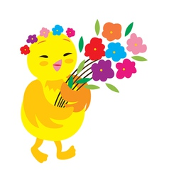 Cute Chick vector image