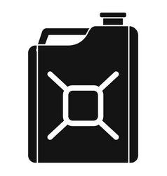 gas canister icon simple style vector image
