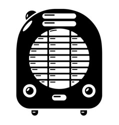 Heat-blower icon simple style vector