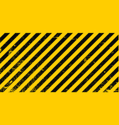 Industrial background warning frame grunge yellow vector
